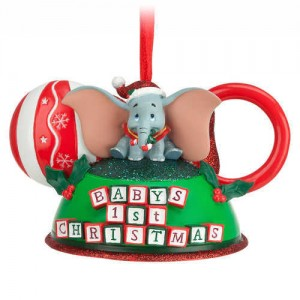 Dumbo - Babys First Christmas Ear Hat Ornament