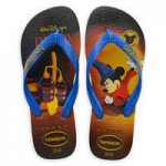 Sorcerer Mickey Mouse Flip Flops for Adults by Havaianas - 1940s