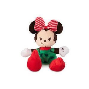 Minnie Mouse Holiday Tiny Big Feet Plush - Micro