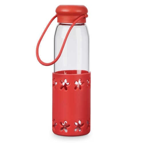 디즈니 Minnie Mouse Glass Water Bottle
