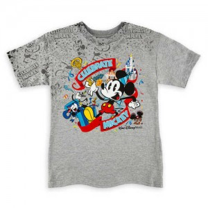 Mickey Mouse Celebrate T-Shirt for Boys - Walt Disney World