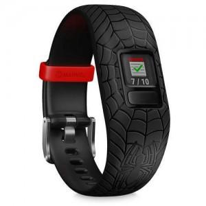 Spider-Man Garmin vivofit jr. 2 Activity Tracker for Kids with Adjustable Band - Black