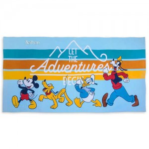 Mickey Mouse and Friends Beach Towel - Personalizable