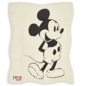Mickey Mouse Reversible Baby Blanket by Barefoot Dreams