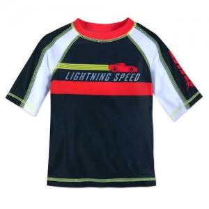 Lightning McQueen Rash Guard for Boys