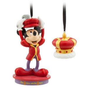 Mickey Mouse Through the Years Sketchbook Ornament Set - The Prince and the Pauper - October - Limited Release
