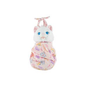 Marie Plush with Blanket Pouch - Disneys Babies - Small
