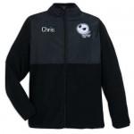 Jack Skellington Pieced Fleece Jacket for Adults - Personalizable