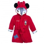 Minnie Mouse Hooded Bath Robe for Baby - Personalizable