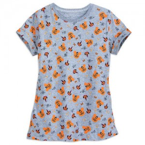 Mickey and Minnie Mouse Halloween T-Shirt for Girls - Disneyland