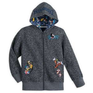 Mickey Mouse and Friends Knit Hoodie for Boys - Disneyland 2019