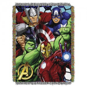 Avengers Woven Tapestry Throw