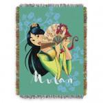 Mulan Woven Tapestry Throw Blanket