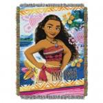Moana Woven Tapestry Throw
