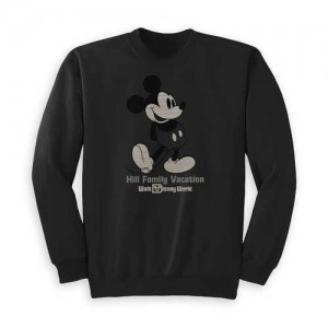 Kids Mickey Mouse Family Vacation Pullover - Walt Disney World - Customized