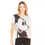 Mickey Mouse Cross Back T-Shirt for Women by Terez