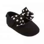 Minnie Mouse Costume Shoes for Baby - Black