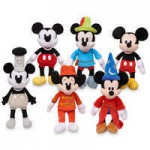 Mickey The True Original Plush Set - Mickey Through the Years - Small