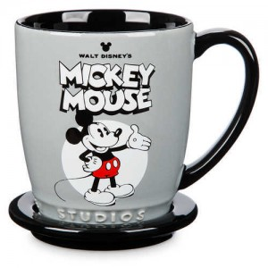 Mickey and Minnie Mouse Mug and Coaster Set - Walt Disney Studios