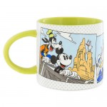 Mickey Mouse and Friends Comic Mug - Green