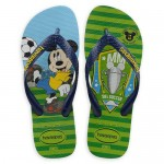 Mickey Mouse World Cup Flip Flops by Havaianas - 1950s