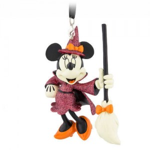 Minnie Mouse Halloween Witch Ornament