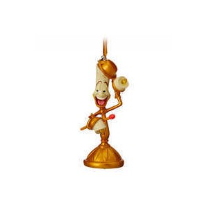 Lumiere Light-Up Sketchbook Ornament - Beauty and the Beast