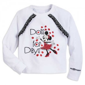 Minnie Mouse Dots for Days Pullover for Girls - Walt Disney World