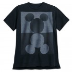 Mickey Mouse Mirror Image T-Shirt for Men