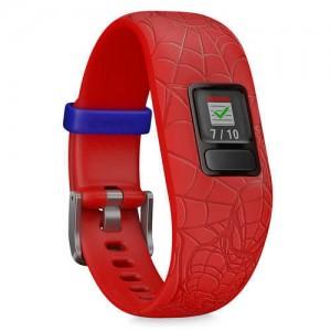 Spider-Man Garmin vivofit jr. 2 Activity Tracker for Kids with Adjustable Band - Red