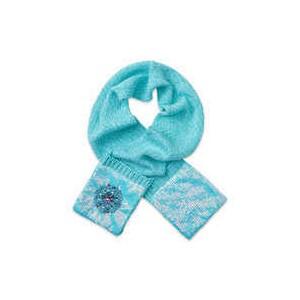 Frozen Knit Scarf for Kids