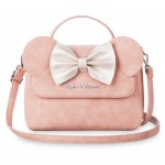 Minnie Mouse Pink Bow Crossbody Bag by Loungefly