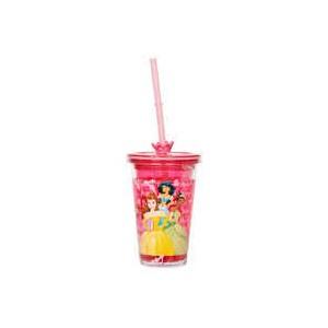 Disney Princess Tumbler with Straw