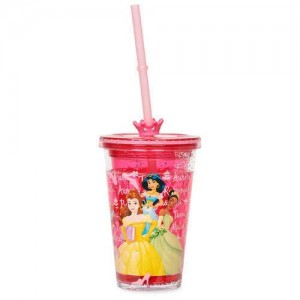 Disney Princess Tumbler with Straw