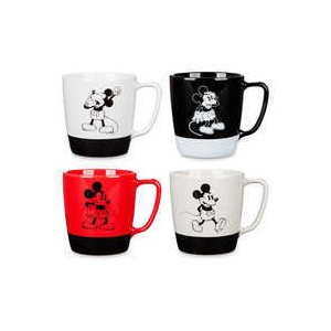 Mickey Mouse Mug Set - 4 pc. - Walt Disney Studios