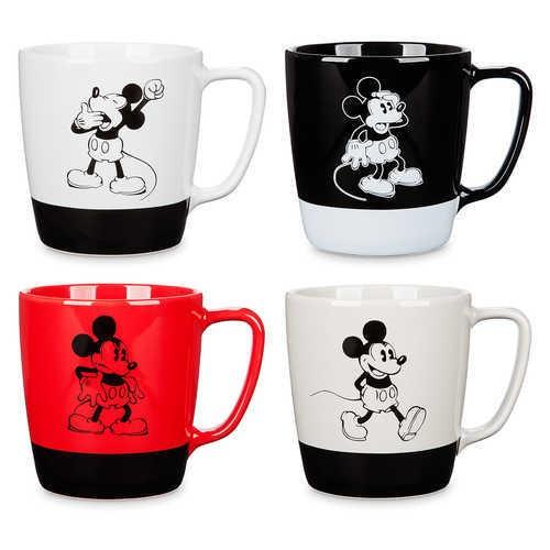 디즈니 Mickey Mouse Mug Set - 4 pc. - Walt Disney Studios