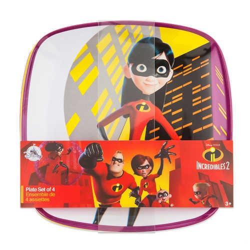 디즈니 Incredibles 2 Plate Set