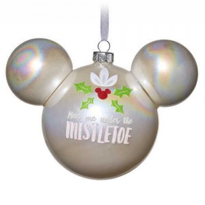 Mickey Mouse Glass Blown Ornament