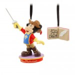 Mickey Mouse Through the Years Sketchbook Ornament Set - The Three Musketeers - November - Limited Release