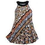 Mickey Mouse Animal Print Dress for Girls - Disneys Animal Kingdom