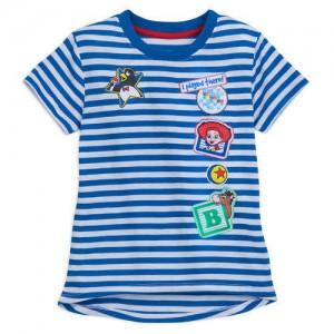 Toy Story Land Striped T-Shirt for Girls - Walt Disney World