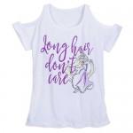 Rapunzel Cold Shoulder T-Shirt for Women
