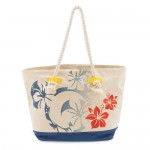 Mickey Mouse Tropical Expandable Tote Bag