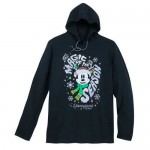Santa Mickey Mouse Pullover Hoodie for Adults - Disneyland