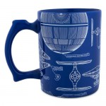 Star Wars Ship Blueprint Mug
