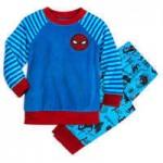Spider-Man Fuzzy Pajama Set for Kids