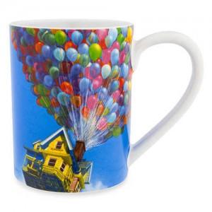 Carl Fredricksen House with Balloons Mug - Up