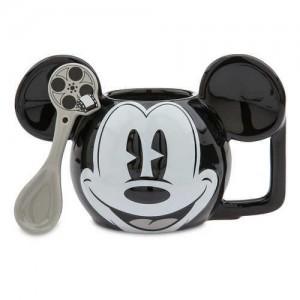 Mickey Mouse Mug and Spoon Set