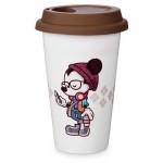 Mickey Mouse Hipster Mickey Travel Mug by Jerrod Maruyama