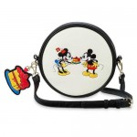Mickey and Minnie Mouse Crossbody Bag by Loungefly